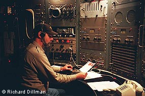 RCA Radio operator at Historic Coast Station KPH