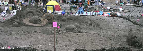 2006 Sand Sculpture Contest 1st Place Award Winner - Dwarf Planet