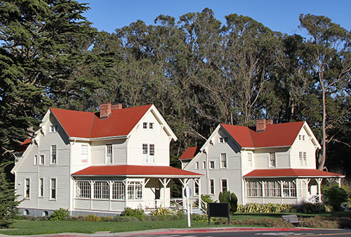 Officers' Quarters on the Alameda