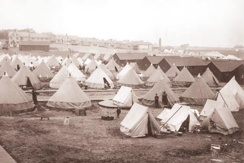1906 refugee camp at the Presidio