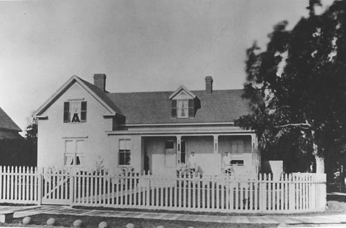 Officer's home on Funston Avenue