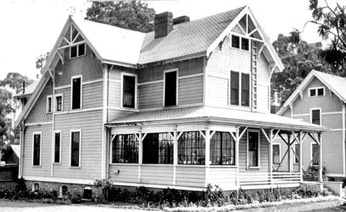 Architecture Queen Anne 1880 1890 Presidio Of San