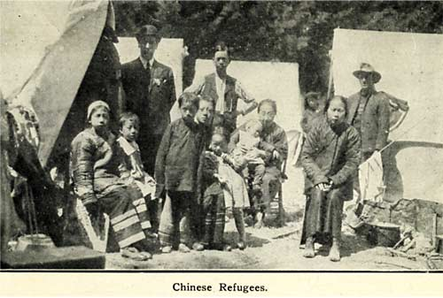Chinese refugees