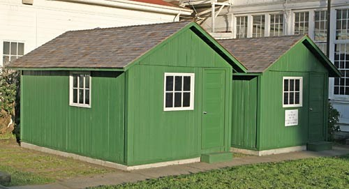 earthquake cottages at the presidio today