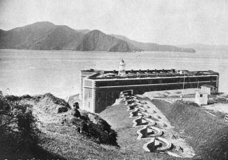 Fort Point in the 1860's.