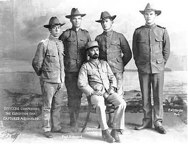 American Officers who captured Aquinaldo.