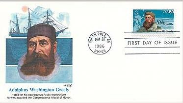 Greely postage stamp
