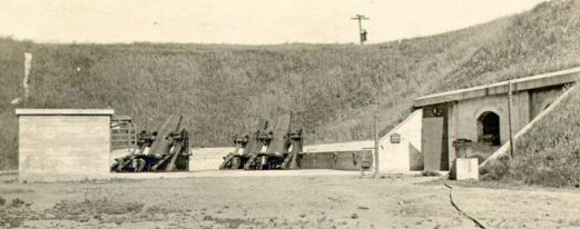 Mortars at Battery Howe-Wagner
