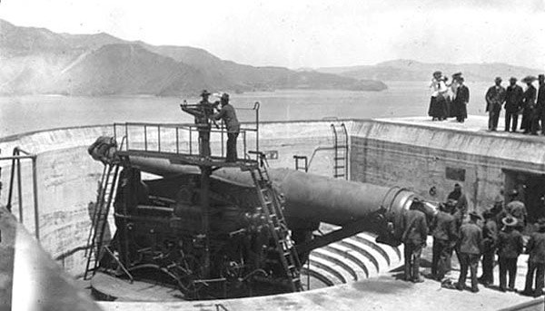 12-inch gun at Battery Lancaster