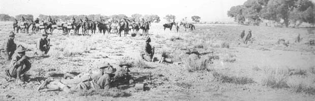 10th Cavalry on the Mexican border, 1916.