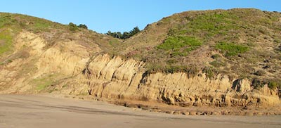 Colma Formation at Baker Beach