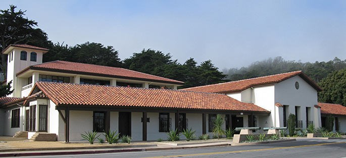 Presidio Officers' Club today