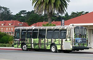 PresidioGo downtown bus