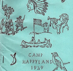 the camp happyland newsletter cover