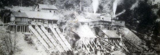 The Cabin Branch Pyrite Mine in full, terrifying operation. (Photo: NPS)