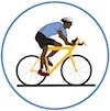 Graphic of bicyclist