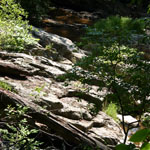 geologic formations along quantico creek