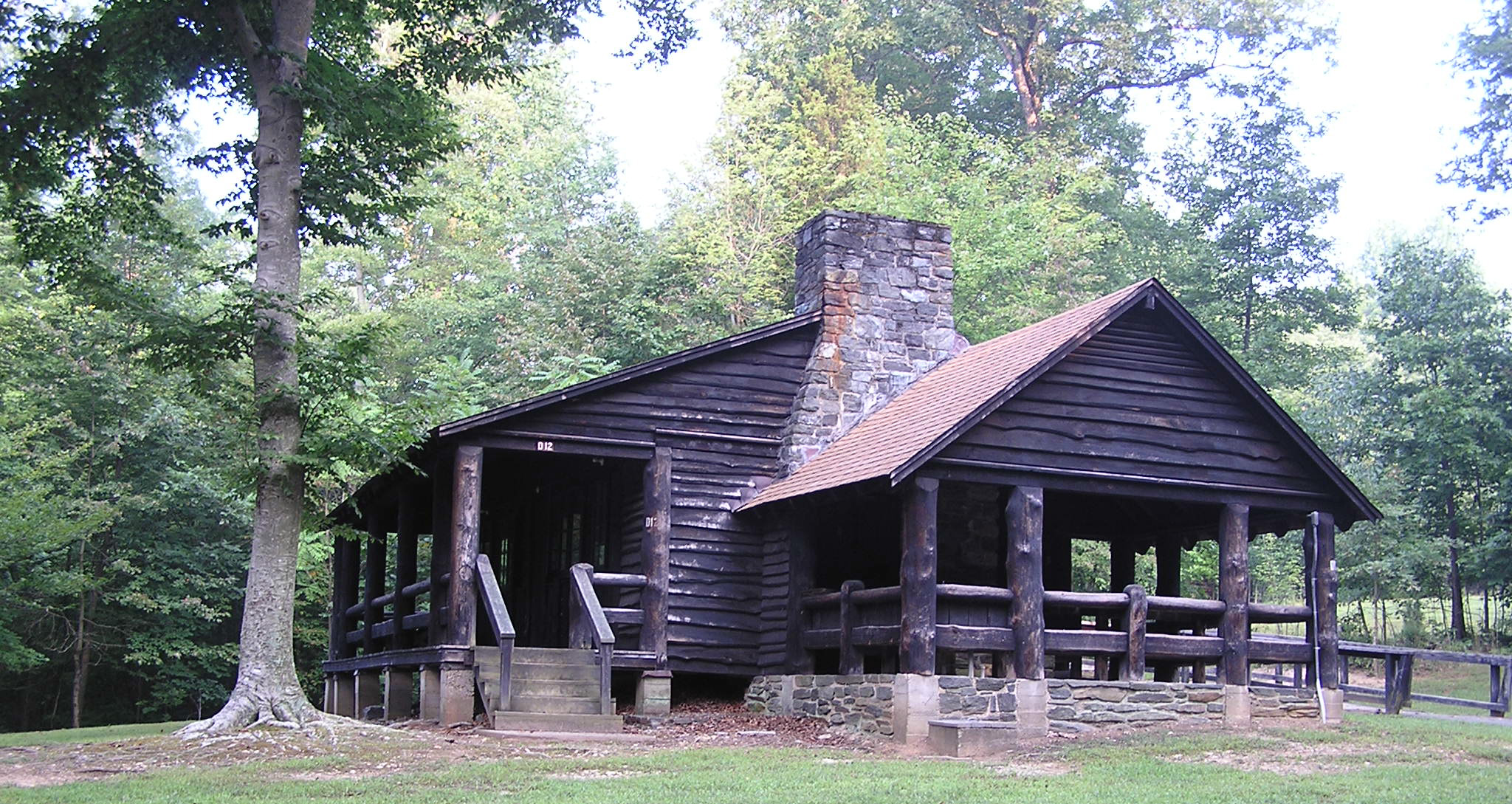 Group cabin camping prince william forest park u s for Camping grounds with cabins