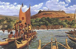 Illustration of Pu'ukohola Heiau
