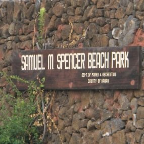 Spencer Park is located adjacent to Pu'ukohola Heiau NHS.