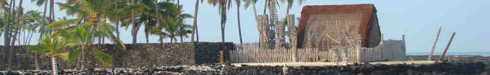 The Sacred Hale o Keawe Heiau Protects the Pu'uhonua