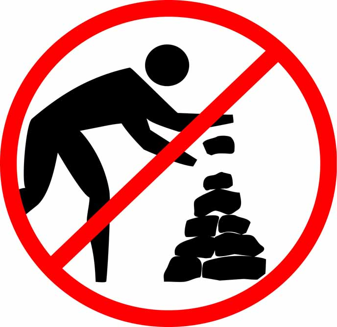 No Rock Pile Logo