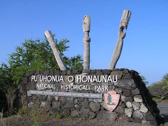 Welcome to Pu'uhonua o Honaunau National Historic Park