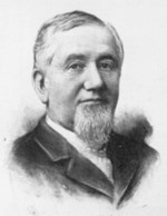 Portrait of George Pullman circa 1894