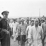 Japanese American's in an internment camp