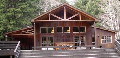 Wolf Creek Education Center lodge