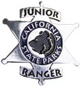 California State Parks Junior Ranger Badge