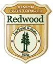 Redwood Junior Ranger Badge