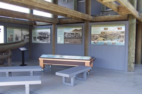 Kuchel Visitor Center deck.