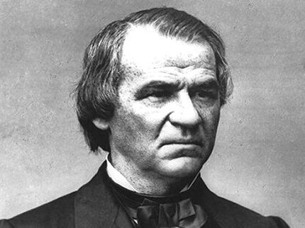 Photo of Andrew Johnson