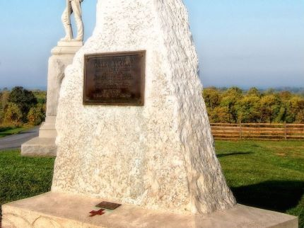 Photo of Clara Barton Monument at Antietam National Battlefield