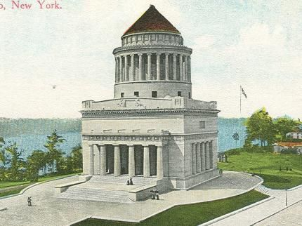 Photo of the 1897 dedication of Grant's Tomb
