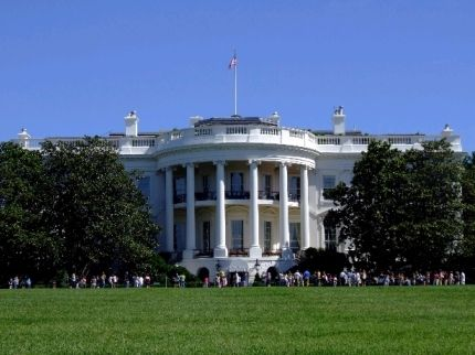 Modern photo of south façade of the White House