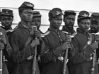 Photograph of unnamed Union African American troops