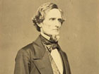 Photograph of Confederate President Jefferson Davis
