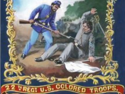 Flag of the 22nd United States Colored Troops