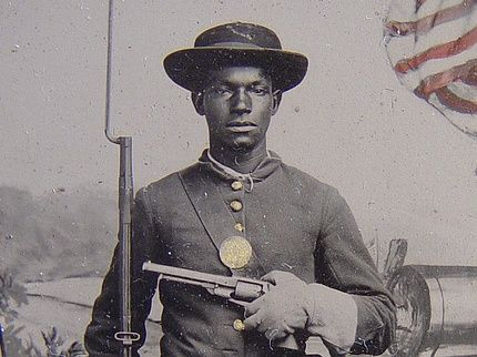 Online archive to document African-American soldiers in Civil War