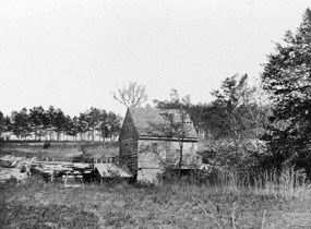 Historic Image of Ellersons Mill, a battlefield landmark
