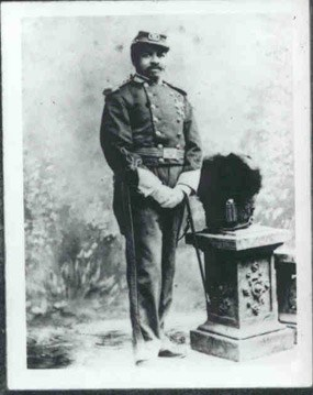 Christian Fleetwood, Sergeant Major 4th USCT
