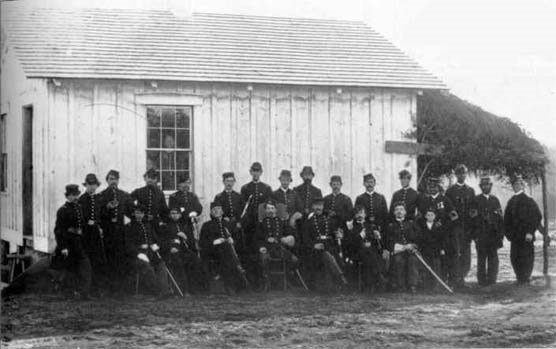 Officers of the 4th USCT