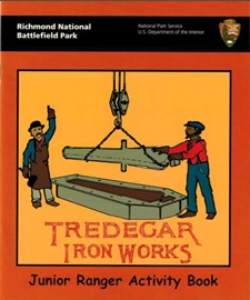Tredegar Iron Works Junior Ranger book