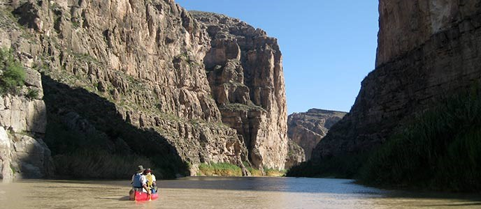 Boquillas Canyon Canoeing