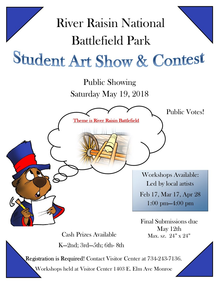 Student Art Show and Contest flyer