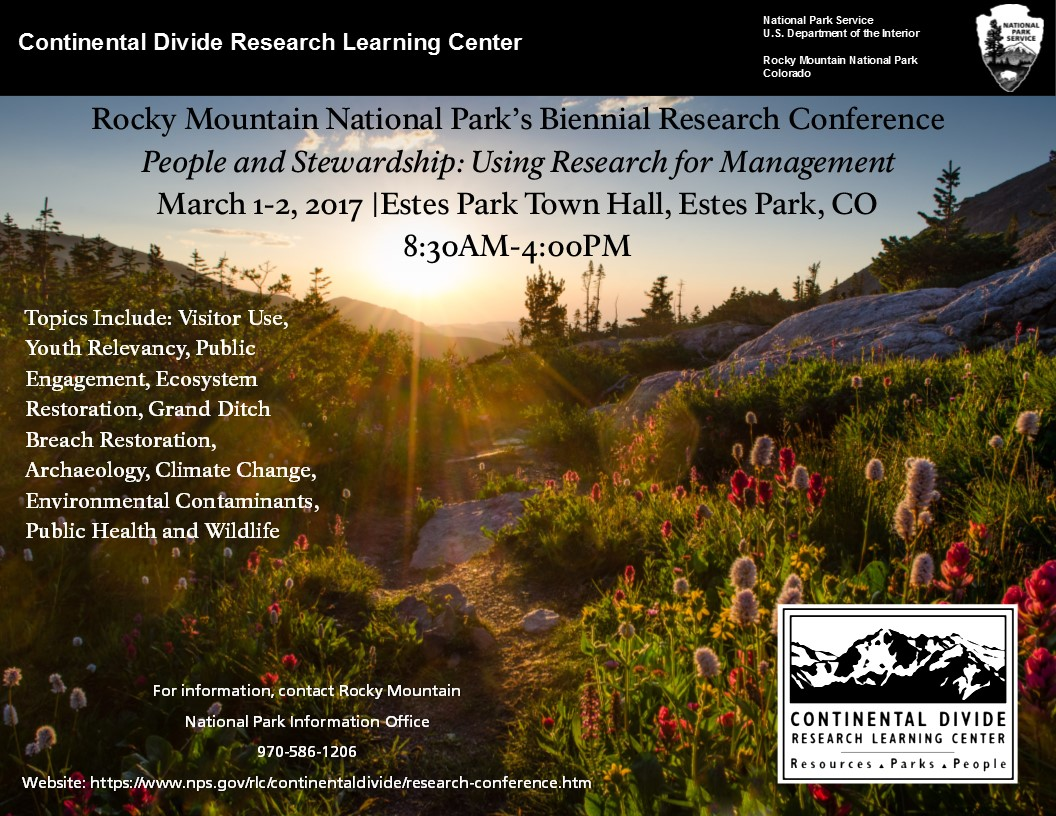 2017 Research Conference Flyer