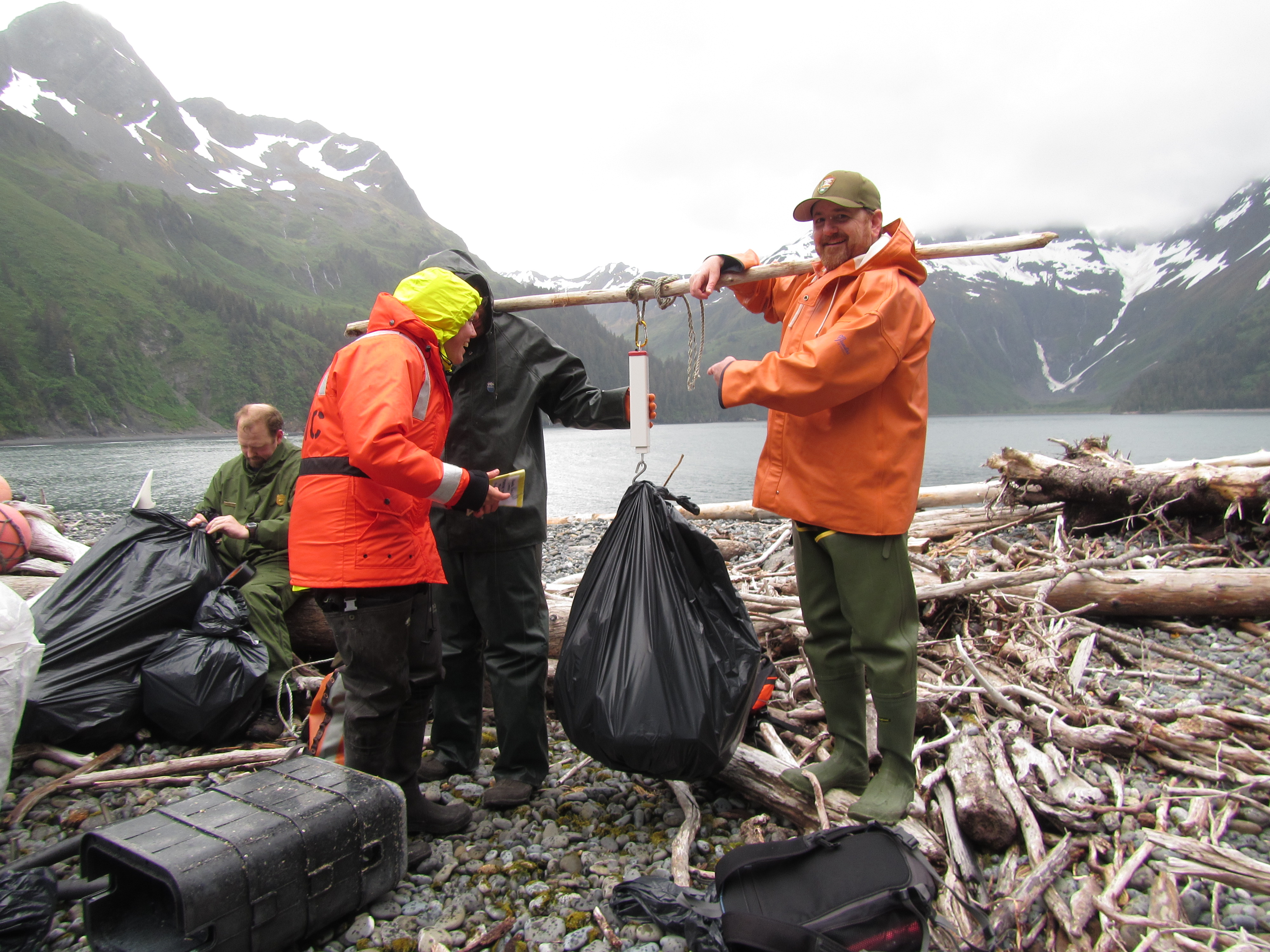 Cleaning Up Alaska S Beaches Ocean Alaska Science And