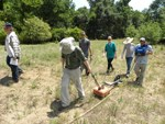 Researchers use ground penetrating radar at Congaree National Park